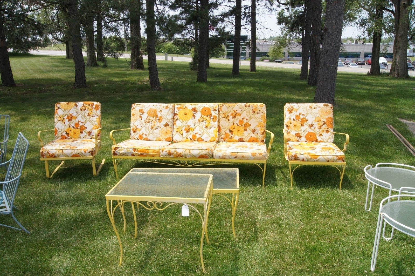 innovative vintage patio furniture house decorating suggestion vintage patio  chairsvintage aluminum FTODBOF