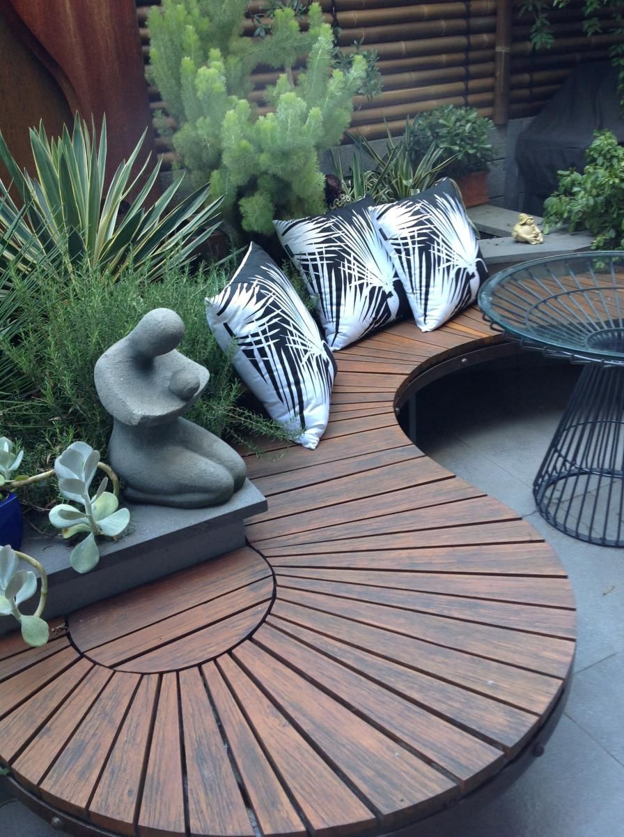 interesting outdoor seating and table. with garden builtin - gardening  choice XGXHJVF