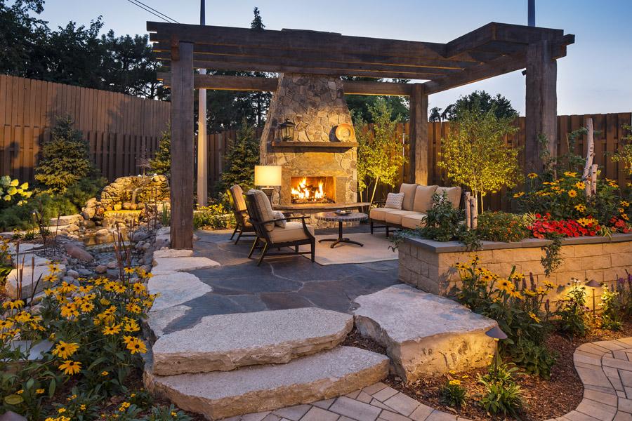 kare 11 backyard fireplace photos   twin city fireplace BOMTUWO