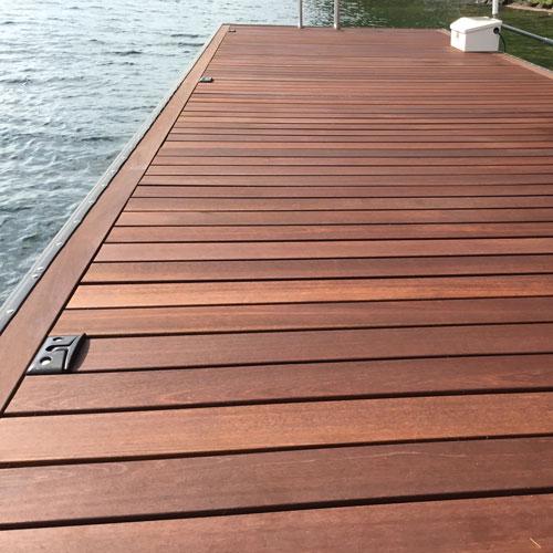 kayu batu hardwood decking XTXVTCB