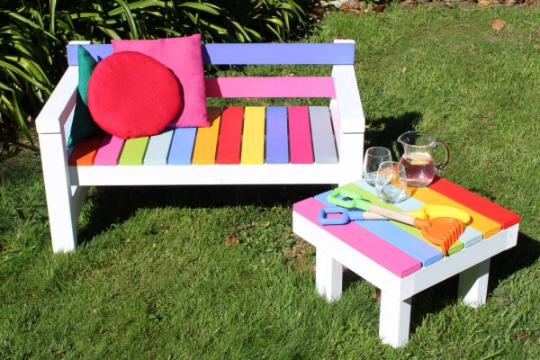 kids outdoor furniture give your kids a personal space with cute kids garden furniture HQQIGZV