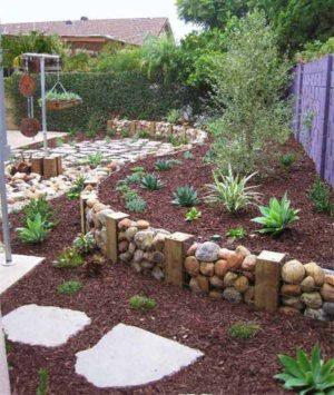 landscape edging ideas 11 beautiful lawn edging ideas - garden lovin BHHMDXG
