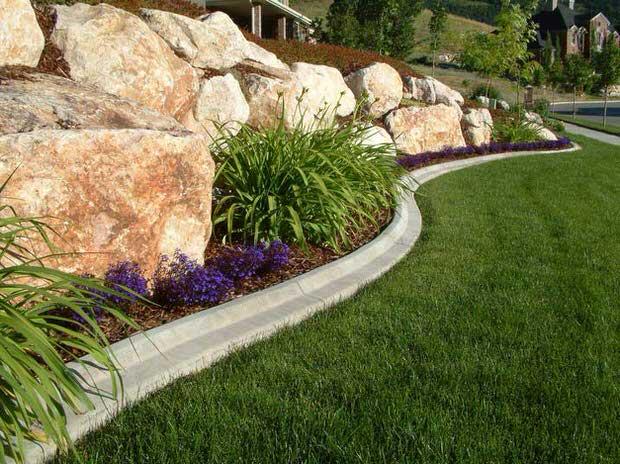 landscape edging ideas lawn edging ideas-3 MGVRWFP