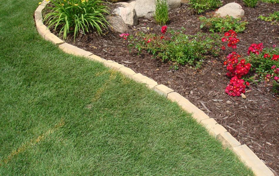 landscape edging ideas lawn edging ideas to keep grass out MTTWSQZ