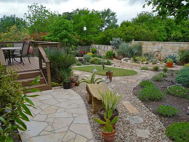landscape ideas southwest backyard garden landscape | inspiring backyard garden design and landscape GORZWES