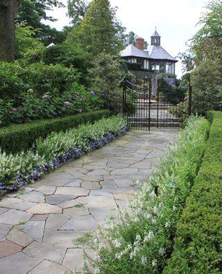 landscaping design garden promenade, flower border johnsen landscapes u0026 pools mount kisco, ... LDSMTOY