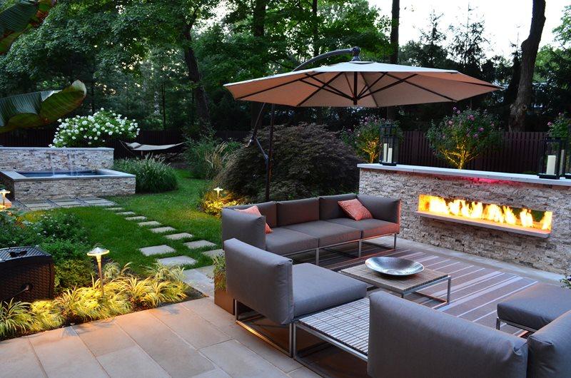 landscaping ideas for backyard backyard landscaping cipriano landscape design mahwah, nj OYDGWBU