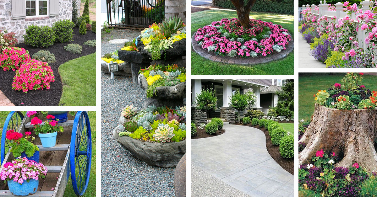 landscaping ideas for front yard 50 best front yard landscaping ideas and garden designs for 2018 CDGRAUQ