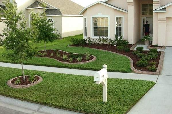 landscaping ideas for front yard decor of simple front yard landscaping ideas front yard landscaping for NLQJACK