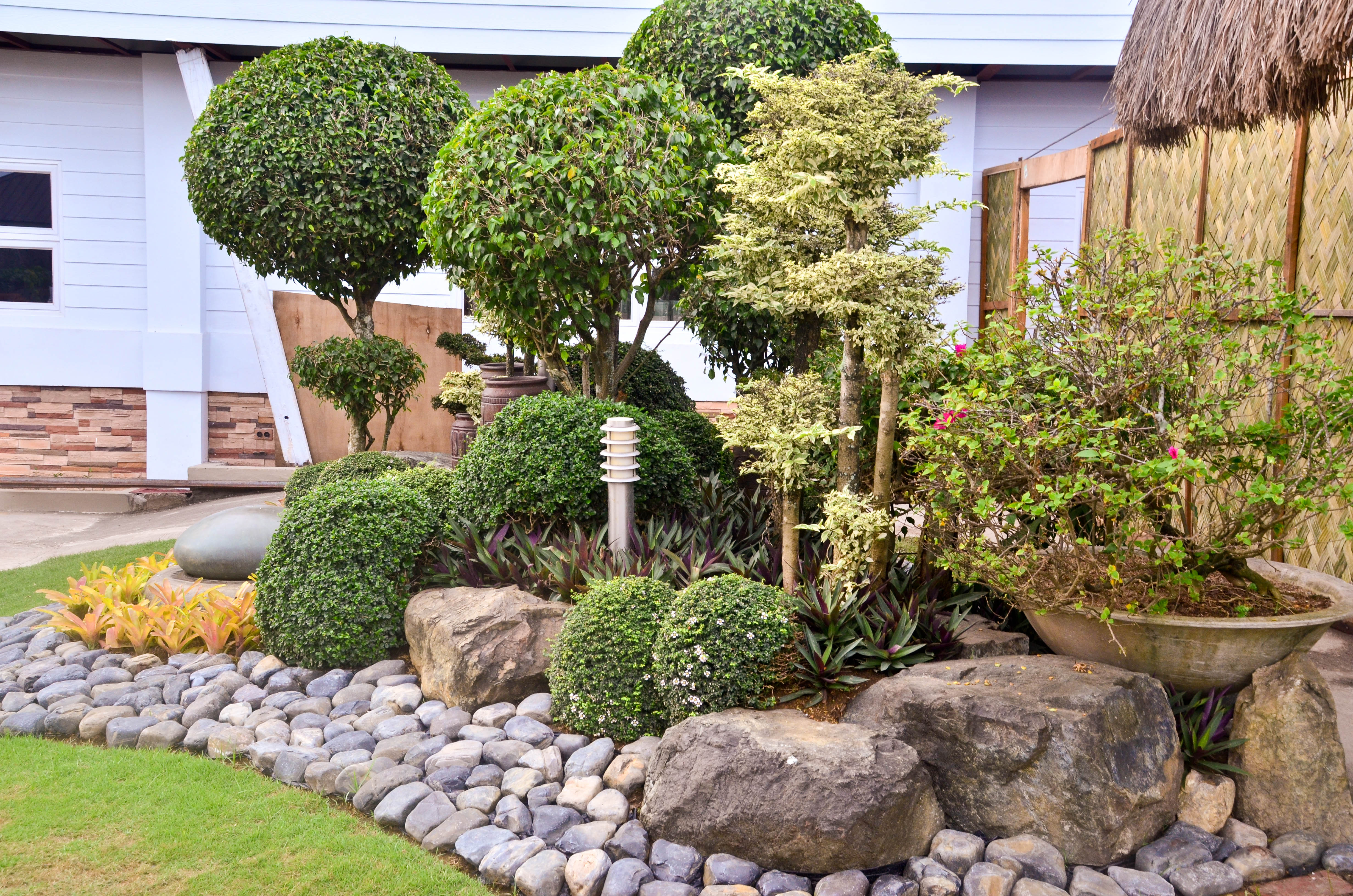 landscaping with rocks how to landscape with rocks: 6 steps (with pictures) - wikihow IQUELLI