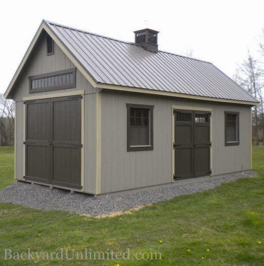 large garden sheds 12u0027x24u0027 custom garden shed with tall walls, additional large wood doors, DQFIMDV