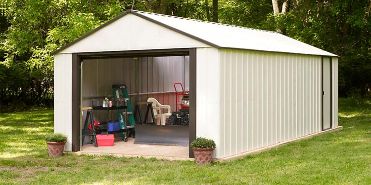 large shed large storage shed all weather storage PYPWIZS