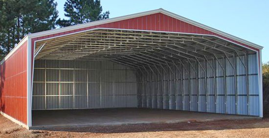 large sheds large metal storage buildings XMSTVAN