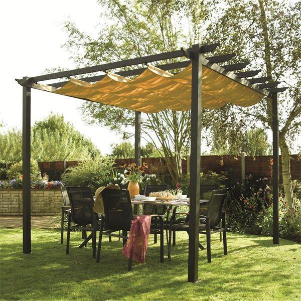 latina aluminium pergola   garden sun canopy EFVIIHB
