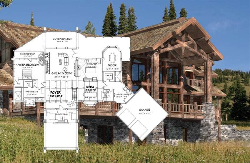 log home plans floor plan concepts custom design handcrafted log home floor plan concept TWKUTGP