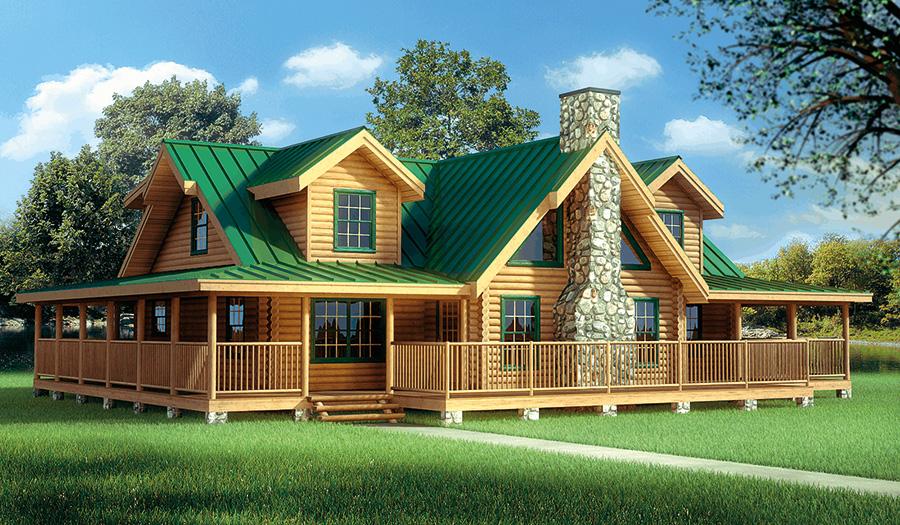 log home plans ramsey log home from hochstetler milling BSFRODL