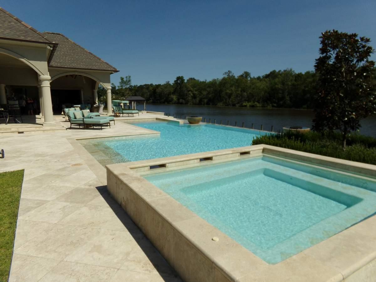 luxury pool design ideas WOVHTEC