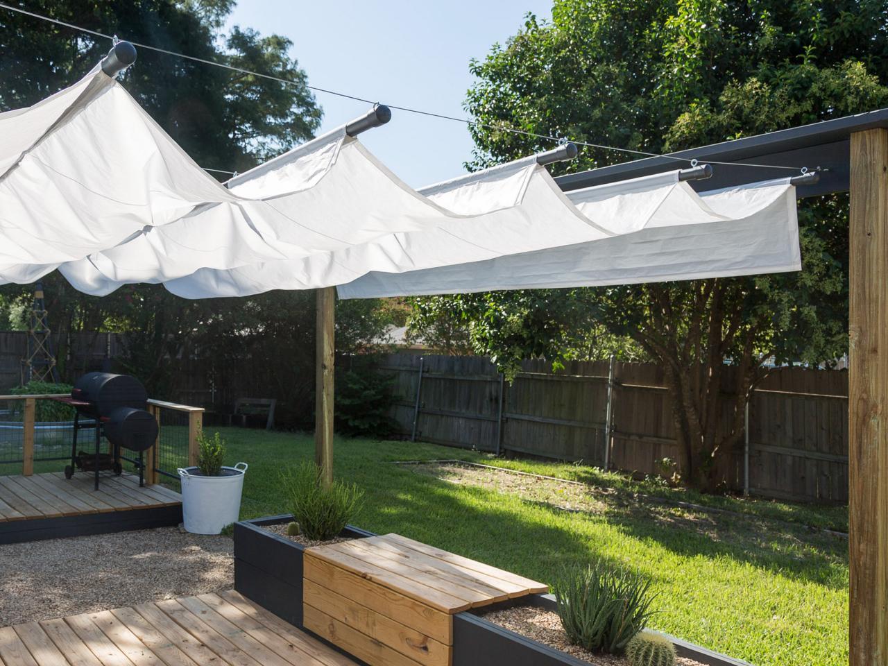 make a retractable canopy TVYTSMB