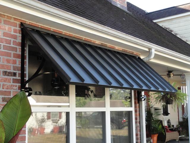 metal awning ... patio center - metal awnings - residential WDIYSPU