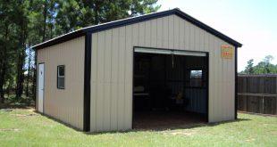metal garage kits 18 x 21 x 9 all vertical garage WOWRMWZ