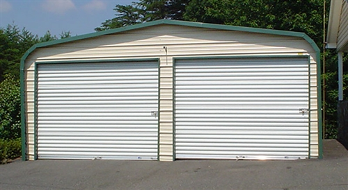 metal garage larger photo email a friend PTRCGJU