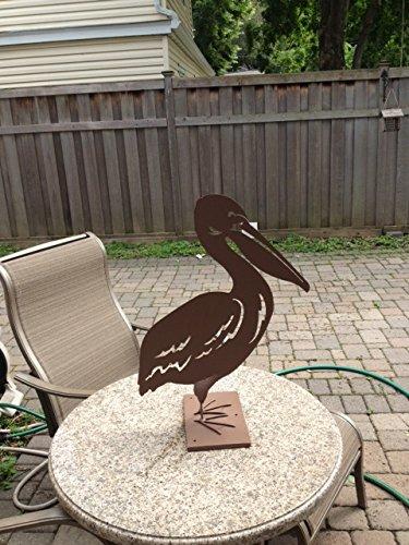 metal garden art-pelican YDGDYFO