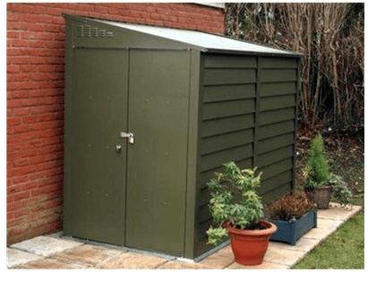 metal garden sheds the trimetals titan 960 metal garden shed EDHSXTU