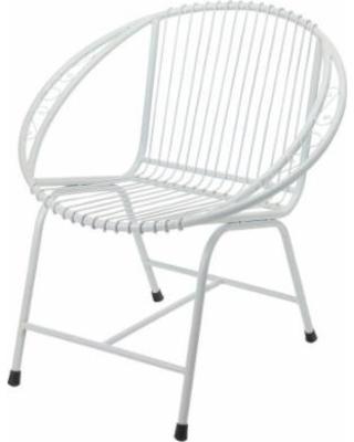 metal outdoor chairs metal chair white, veranda outdoor modern metal patio chairs - white OTMJJXL