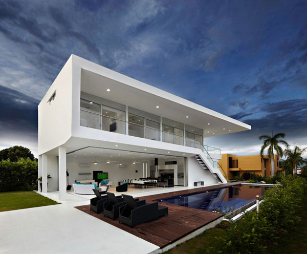 minimalist house design 8. residence in colombia displaying a minimalist design ... CSJFIPN