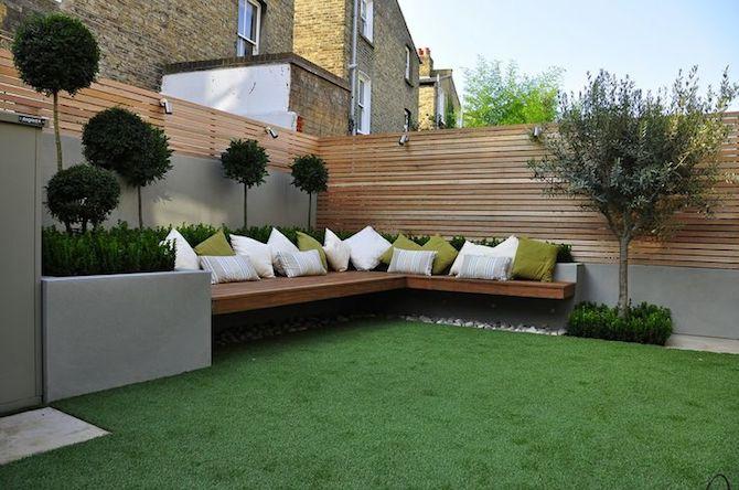 Adjusting to the modern garden design