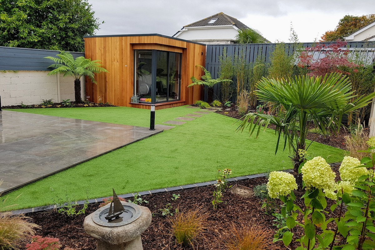 modern garden design templeogue south dublin OXUEXTF
