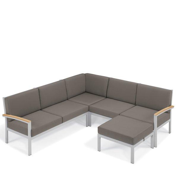 modern outdoor sectionals   allmodern MCLGEOW