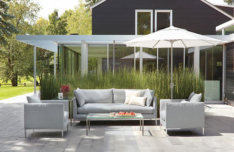 modern patio furniture - freshome KDPUYFP