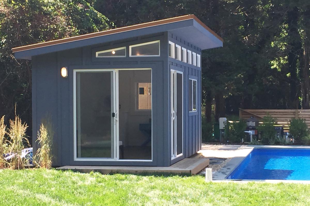 modern sheds modern poolhouse XEBBHSK