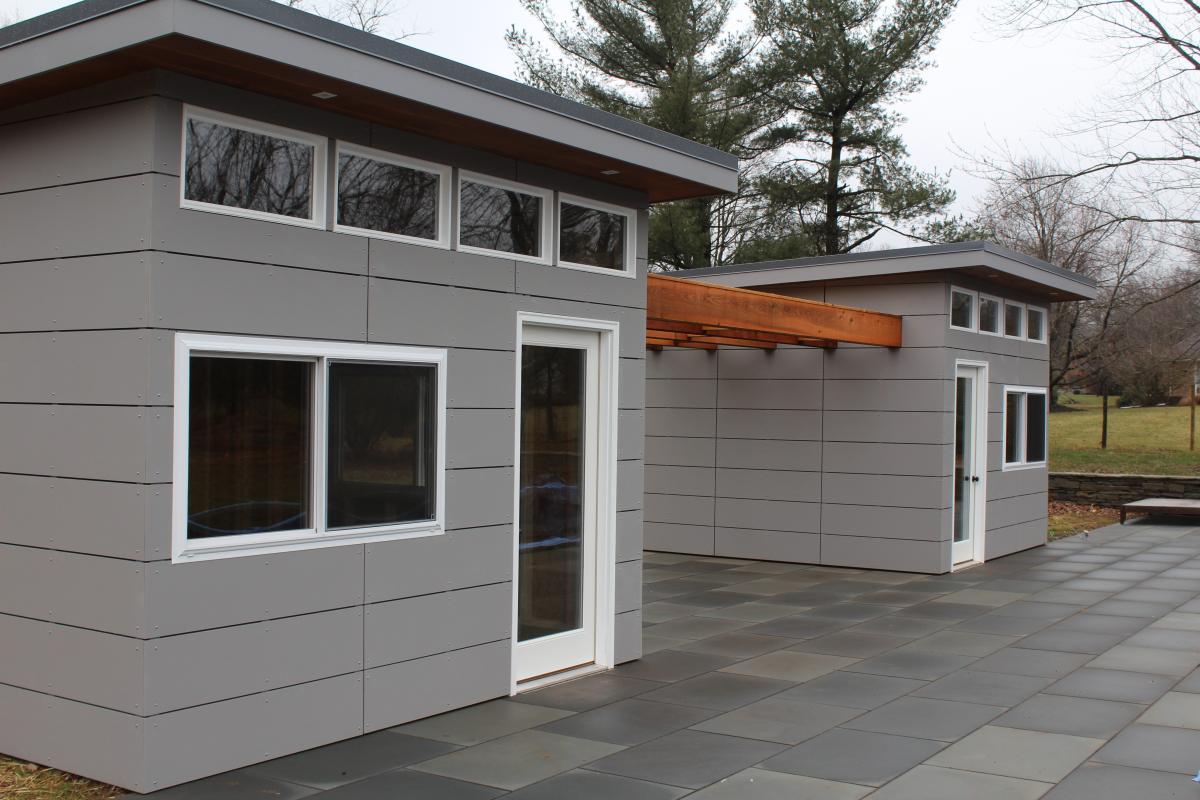 modern sheds modern prefab sheds with pergola VPYRXXM