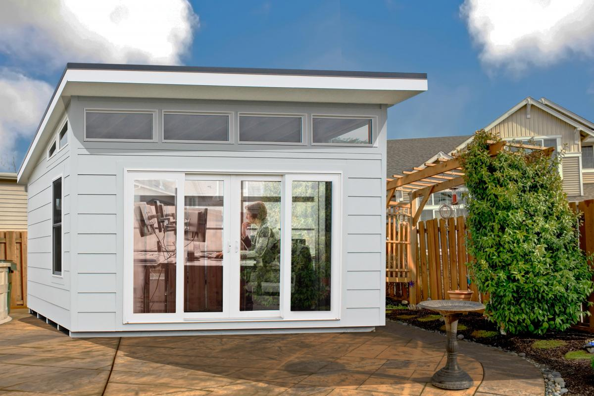 modern sheds modern prefab studio sheds SIDSJXK