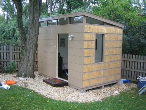 modern sheds now ... XNUDJAM