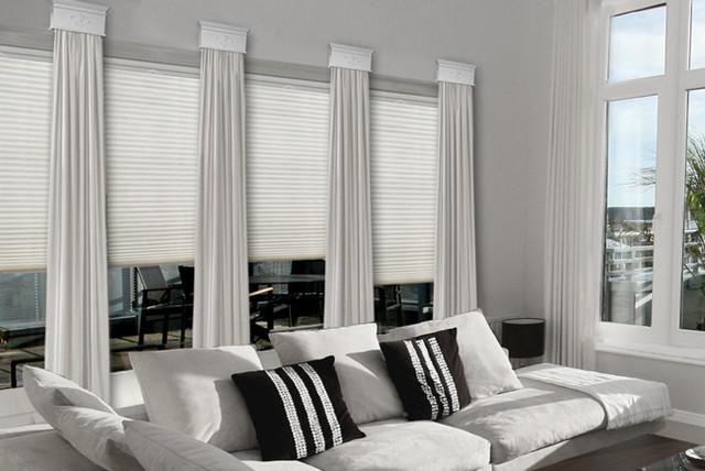 modern window treatments contemporary cornice window treatments contemporary-family-room HXWHAZK