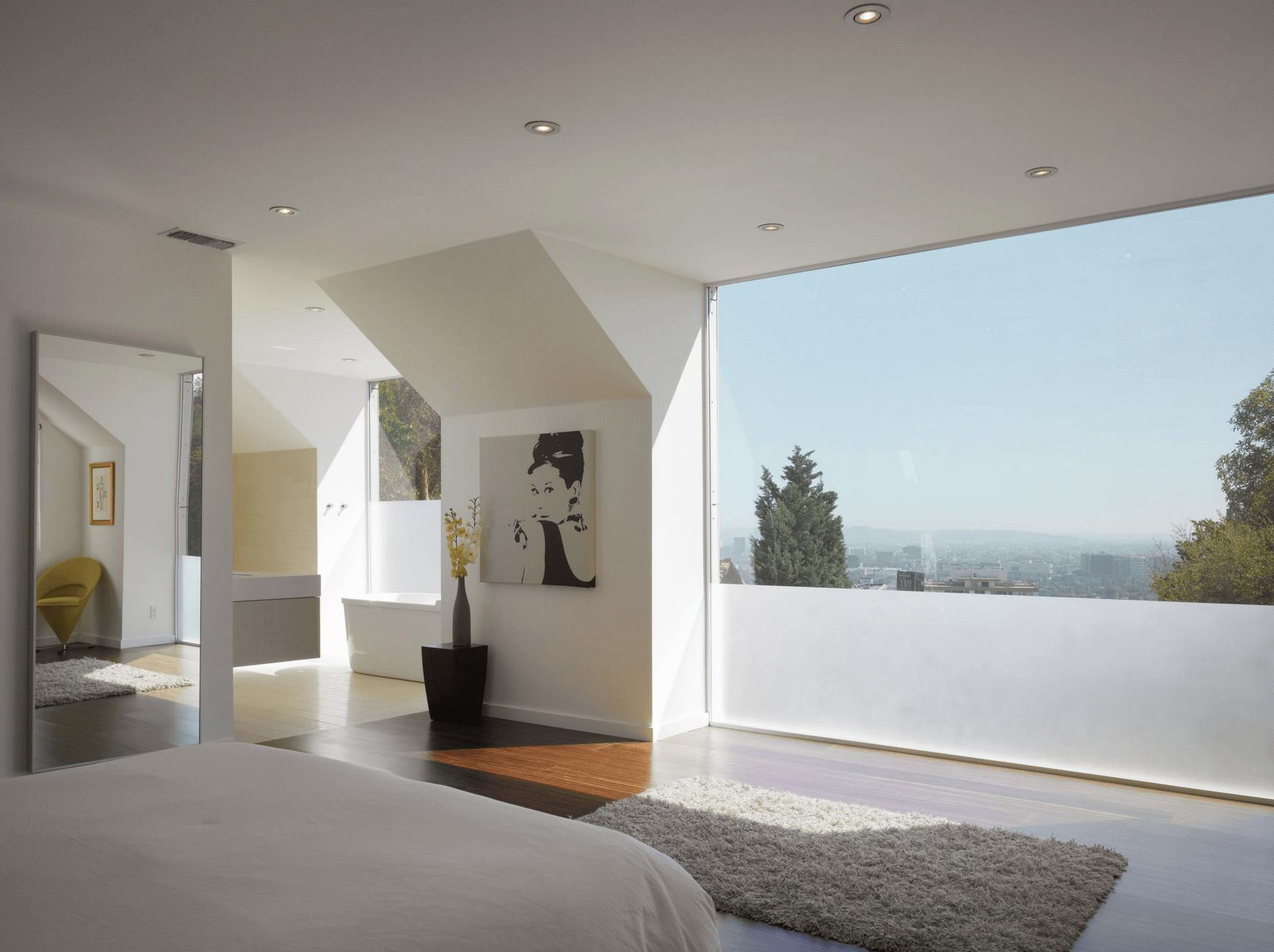 modern window treatments modern window treatment ideas - freshome BGELXQU
