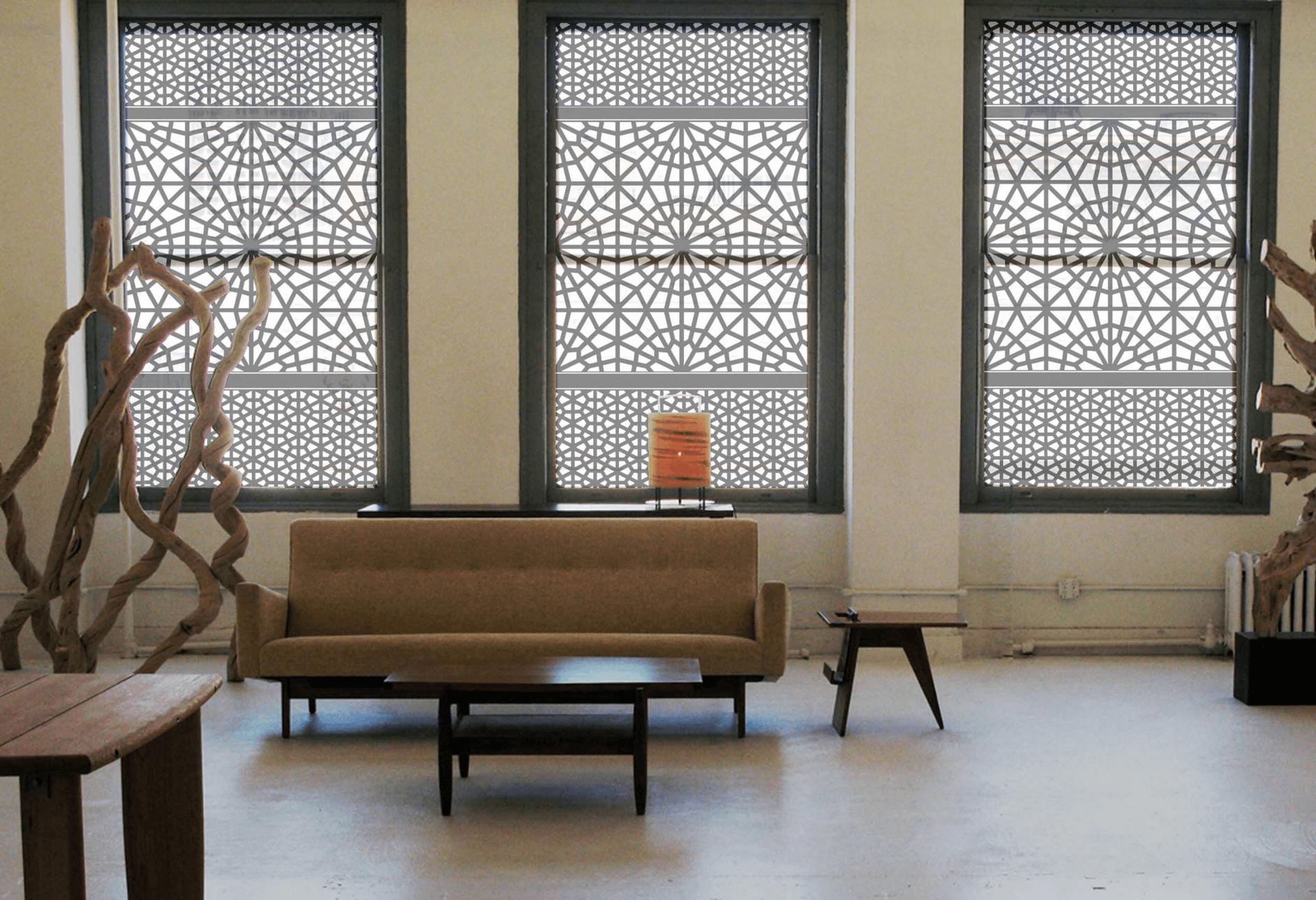 modern window treatments modern window treatment ideas - freshome HWEMJQO
