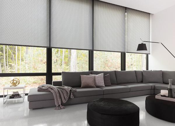 modern window treatments roller shades RZNVVYS