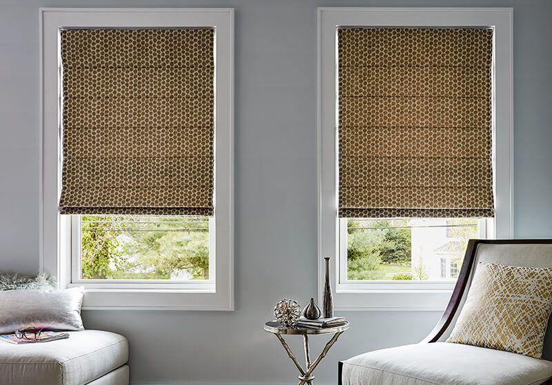 motorized blinds roman shades motorized option living room ELDXRUZ