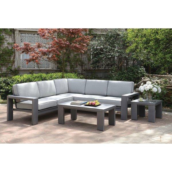 orren ellis sherrell contemporary outdoor sectional sofa   wayfair BNAFKFA