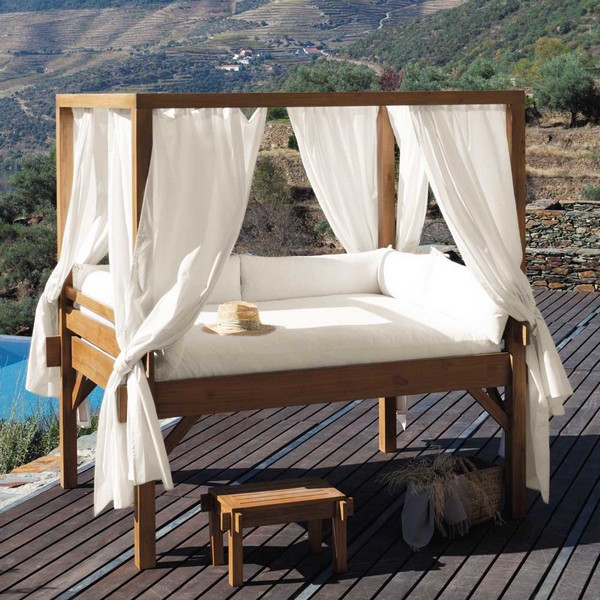 outdoor beds view in gallery a view to marvel at as you LUCAQYW