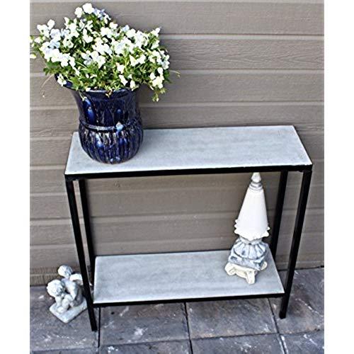 outdoor buffet table 2 tier concrete outdoor patio console buffet table HFCEATJ