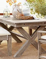 outdoor buffet table dining tables VAXNWYV