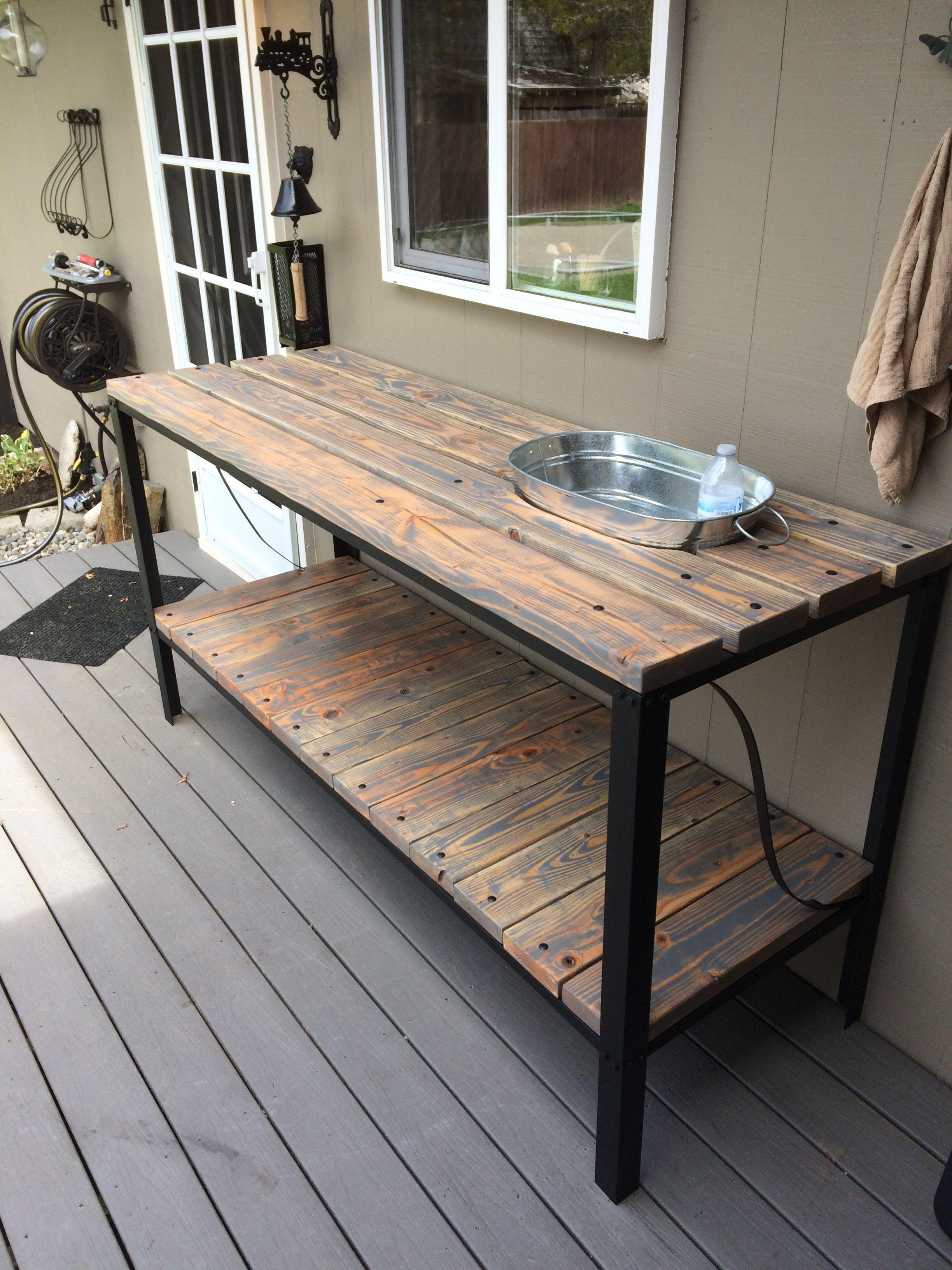 outdoor buffet table SLCINQT