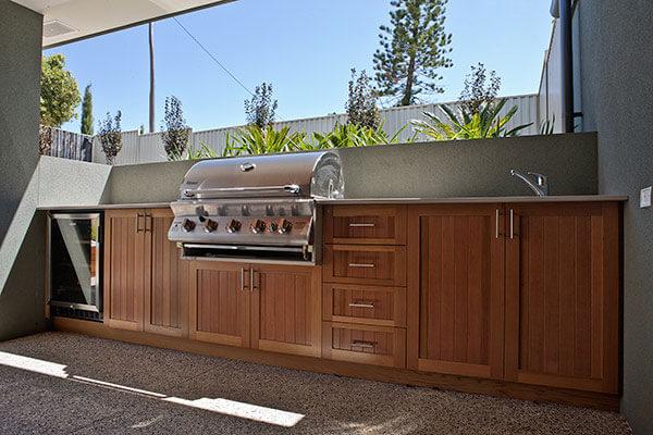 outdoor cabinets builtin outdoor grill area in custom built outdoor kitchen. QBWIFLO