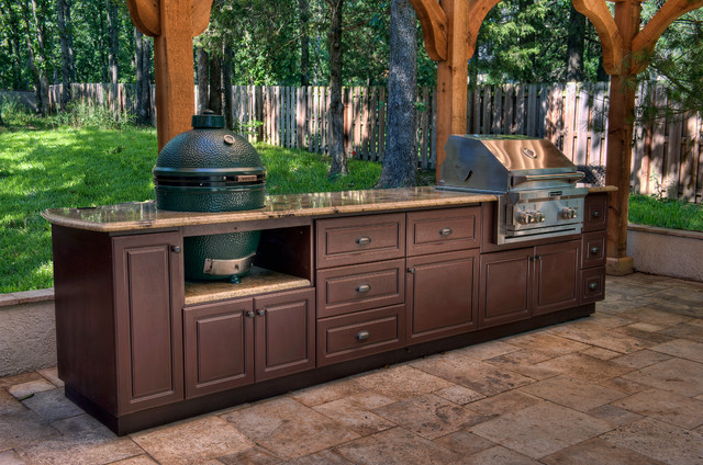outdoor cabinets select outdoor kitchen custom cabinets traditional-patio ARUUSBY