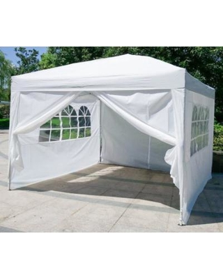 outdoor canopy tent urban style 10u0027x10u0027 pop up canopy tent with 4 sidewalls party wedding ADVTEXD